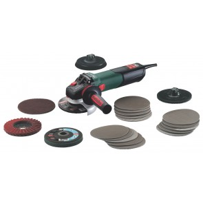 Metabo 1550 Watt Γωνιακός Τροχός WEV 15-125 Quick Inox Set