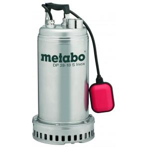 Metabo Βυθιζόμενη Εργοταξιακή Αντλία Λυμμάτων DP 28-10 S Inox