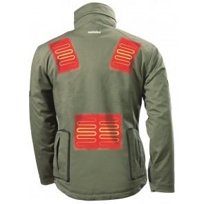 Metabo Θερμαινόμενο Jacket Μπαταρίας HJA 14.4-18 (size XXL) Set και Μπαταρία Φόρτισης