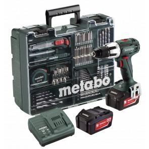 Metabo 18 Volt Κρουστικό Δραπανοκατσάβιδο Μπαταρίας 2 Ταχυτήτων SB 18 LT Set Κινητό Συνεργείο