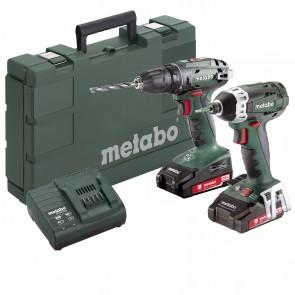 Metabo 18 Volt Combo Set Μπαταρίας 2.1.7 18 V BS 18 & SSD 18 LTX 200