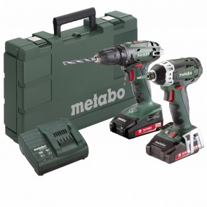 Metabo 18 Volt Combo Set Μπαταρίας 2.1.8 18 V SB 18 & SSD 18 LTX 200