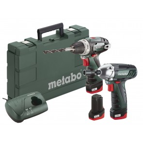 Metabo 10.8 Volt Combo Set Μπαταρίας BS & SSD με 3 μπαταρίες Li-Power