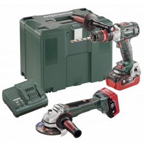 Metabo 18 Volt Combo Set Μπαταρίας 2.4.6 18 V BL LIHD