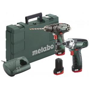 Metabo 10.8 Volt Combo Set Μπαταρίας SB & SSD με 3 μπαταρίες Li-Power