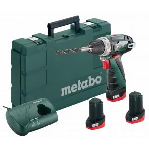 Metabo 10.8 Volt Δραπανοκατσάβιδο Μπαταρίας PowerMaxx BS Basic Set