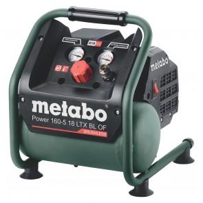 Metabo Αεροσυμπιεστής Μπαταρίας Power 160-5 18 LTX BL OF
