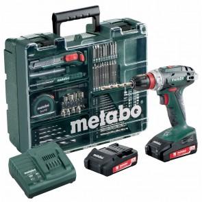 Metabo 18 Volt Δραπανοκατσάβιδο Μπαταρίας BS 18 Quick Set Κινητό Συνεργείο