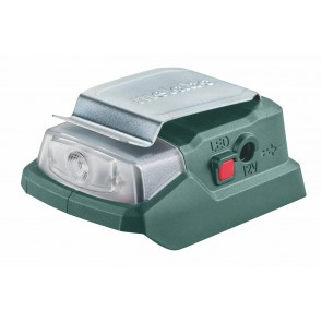 Metabo 12 Volt Αντάπτορας - Φακός Μπαταρίας PowerMaxx PA 12 LED-USB