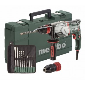 Metabo 800W Ηλεκτρικό Περιστροφικό Πιστολέτο UHE 2660-2 QUICK Set με διπλό τσόκ 2 ταχυτήτων