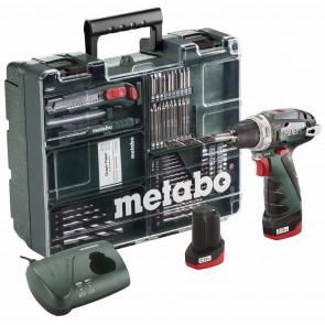 Metabo 10.8 Volt Δραπανοκατσάβιδο Μπαταρίας PowerMaxx BS Basic Set Κινητό Συνεργείο