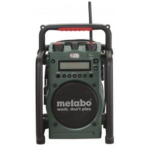 Metabo Εργοταξιακό Ραδιόφωνο - Φορτιστής Μπαταρίας RC 14.4 - 18