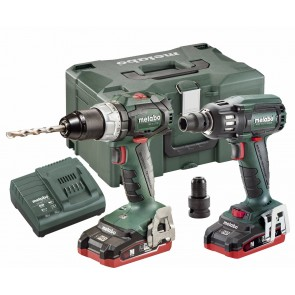 Metabo 18 Volt Combo Set Μπαταρίας 2.1.10 18 V BL LIHD