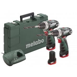 Metabo 10.8 Volt Combo Set Μπαταρίας BS & BS με 3 μπαταρίες Li-Power