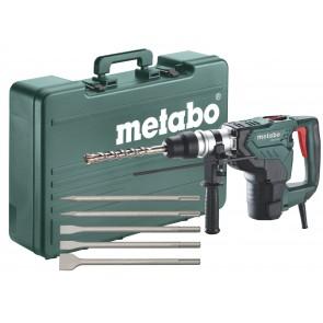 Metabo 1100 Watt Περιστροφικό Πιστολέτο KH 5-40 με Σετ καλέμια SDS-plus (5 τεμάχια)