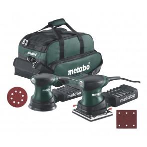 Metabo Set Τριβείo FSR 200 και Τριβείο Χούφτας FSX 200